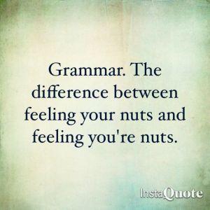 Grammar - Nuts