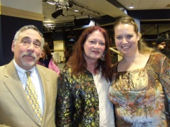 Banquet - Wendy, Dave Poyer & Lenore Hart