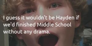 Hayden - Middle School