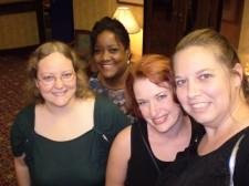Lauren, Adrienne, Ally & Amazon