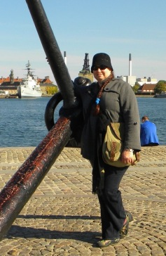 Copenhagen, Denmark, September 2014 (age 40). Not so slender anymore.