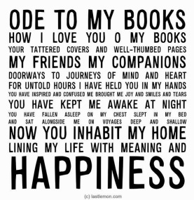 ode to books